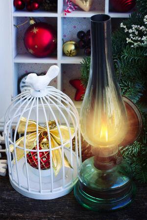 vintage lantern photo