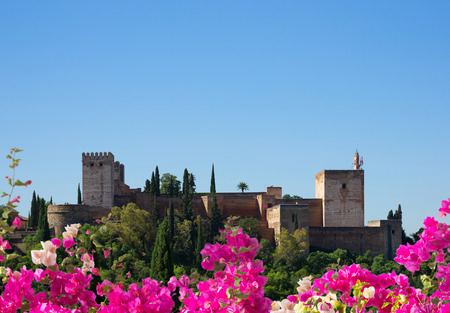 fortress of Alhambra, Spain photo