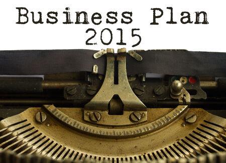 Business plan 2015 photo