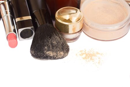 Basic make-up products. photo