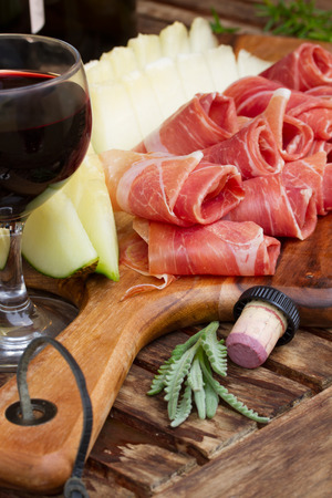 antipasto: spanish tapas Stock Photo