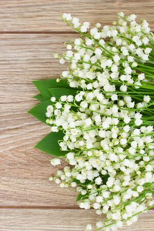 posy: lilly of the valley posy