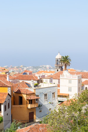 canarias: cityscape of old town of Orotava, Tenerife, Canarias Spain