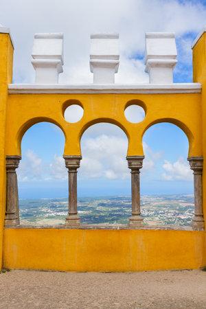 sintra: Palacio Pena, Sintra, Portugal