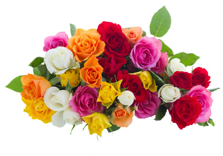 boeket van verse rozen
