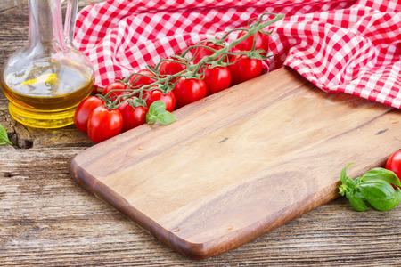 empty cutting board