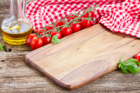 cutting boards: empty cutting board