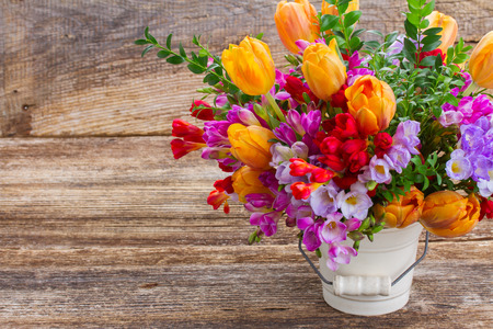 flowers bouquet: Freesia  flowers