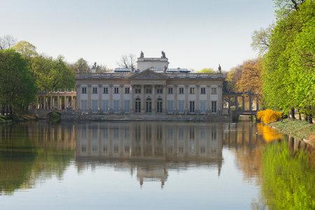 lazienki: Lazienki park, Warsaw, Poland