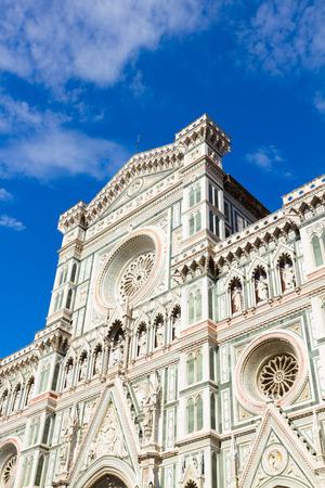 santa maria del fiore: cathedral  Santa Maria del Fiore, Florence, Italy Stock Photo
