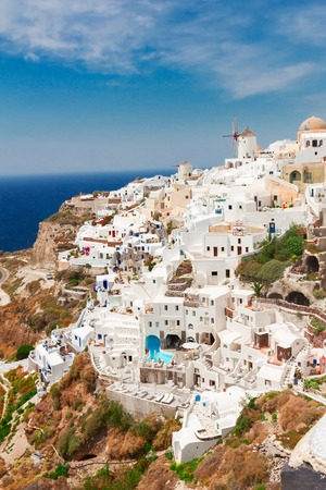 oia: Oia, traditional greek village