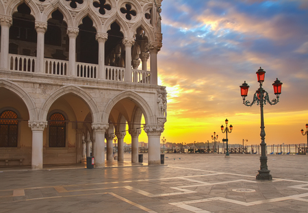 doge: Doge palace, Venice, Italy Editorial