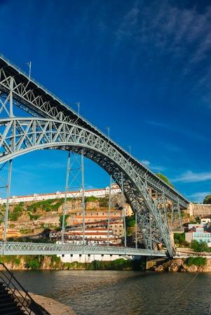 dom: pont de Dom Luis, Portugal Banque d'images