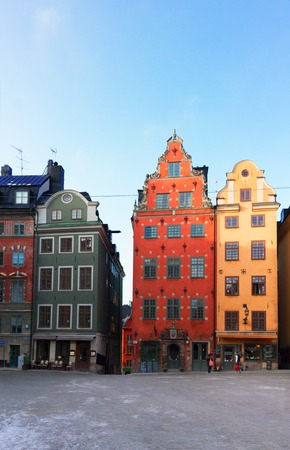 stan: view of Gamla Stan old square, Stockholm, Sweden