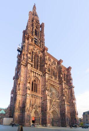 alte Kathedrale Notre-Dame in Straßburg, Frankreich