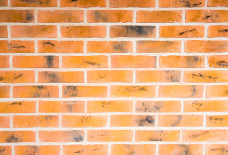 texture of dark red brick wall close up background