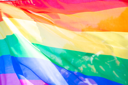 Rainbow flag background abstract textured background