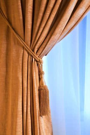 Luxury curtain Stock Photo - 2222075