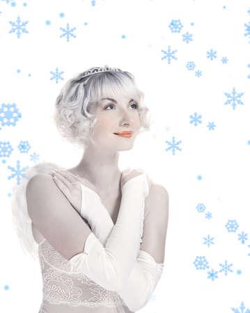 Beautiful angel girl Stock Photo - 2241329