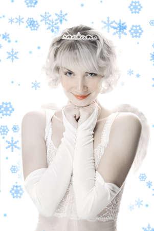 Beautiful angel girl photo