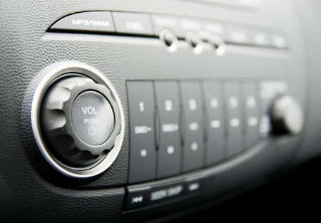 car audio: Modern car audio system
