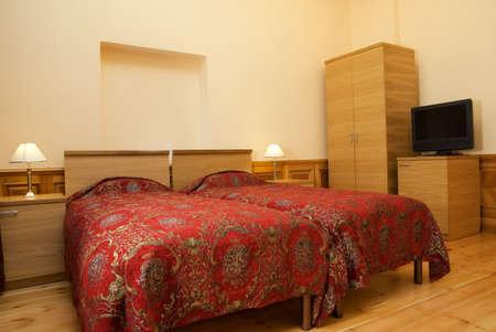 Hotel double room Stock Photo - 2339897
