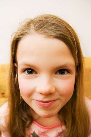 Young girl making faces Stock Photo - 2358070