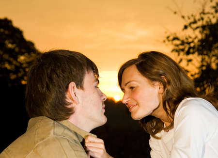 Young couple in love Stock Photo - 2432858