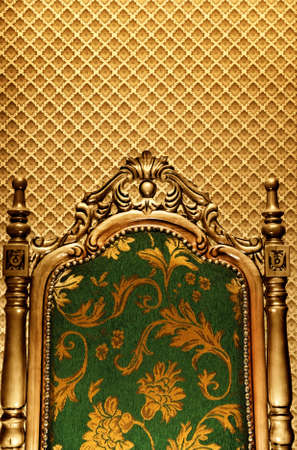 furniture detail: Luxury royal chair