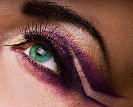 Creative eye paint Stock Photo - 2495231