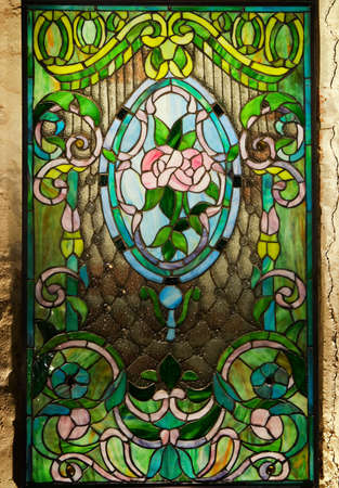 Beautiful stained-glass window