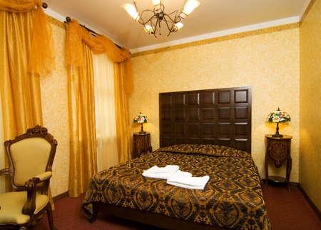 luxury hotel room: Luxury hotel room