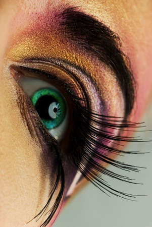 Creative eye paint Stock Photo - 2544200