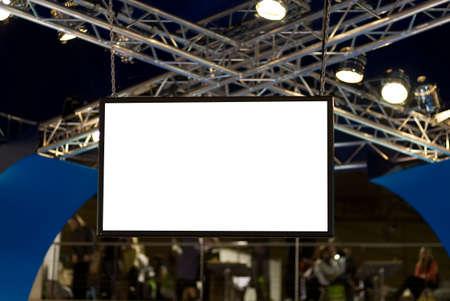 big screen tv: Big blank screen