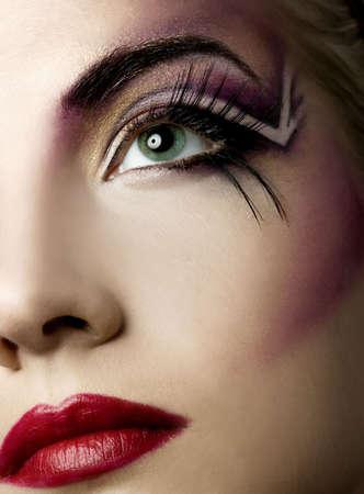 Creative face paint