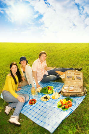 Friends at picnic Stock Photo - 3008758