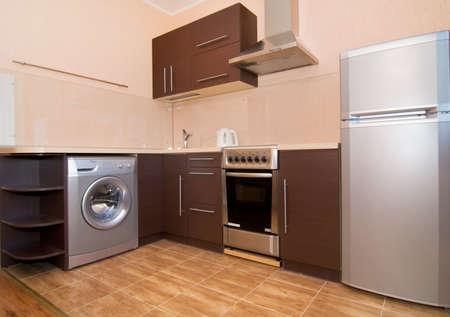 floor machine: Kitchen interior
