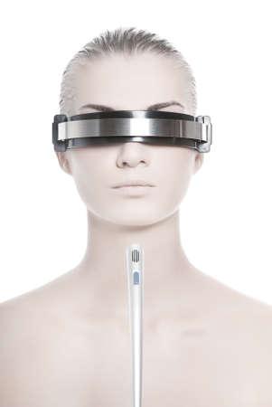 talking robot: Futurista cyber operador en l�nea
