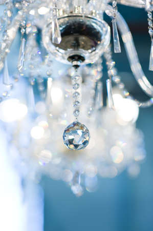 chandeliers: Vintage crystal lamp
