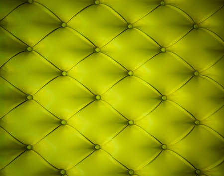 Green button-tufted leather background Stock Photo - 3992623