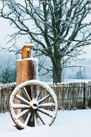 Winter scenic photo