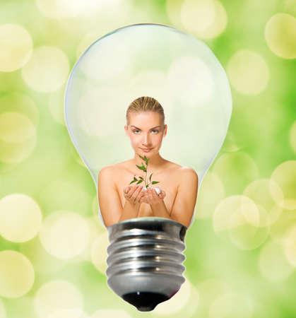Environment friendly bulb Stock Photo - 4003411