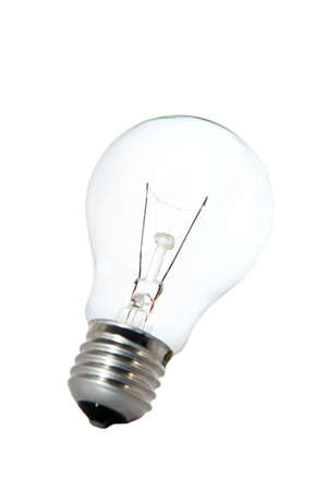 Tungsten bulb over white background Stock Photo - 4003413