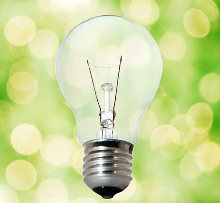 Environment friendly bulb Stock Photo - 4003414