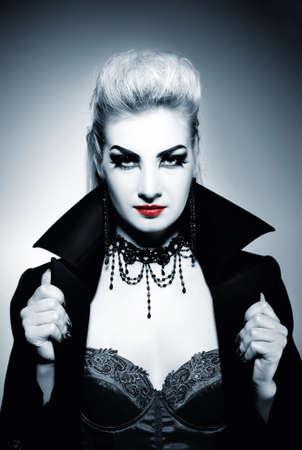 Gothic woman photo