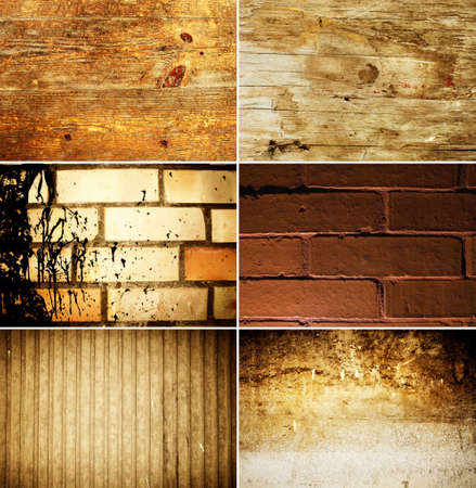 Grunge texture set Stock Photo - 4052462