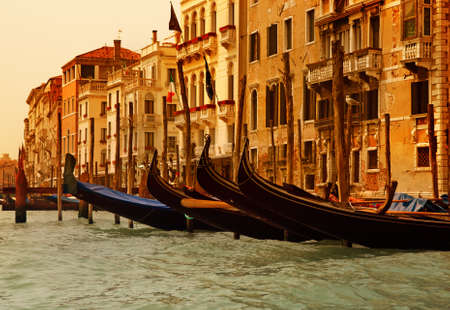 Venecia gandolas Foto de archivo - 4101930