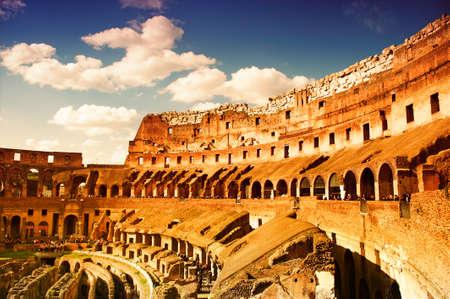 rome italie: Colis�e de Rome (Italie)