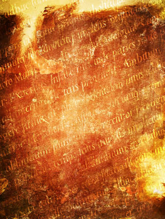 ancient alphabet: Abstract grunge texture