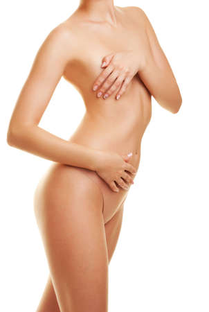 nude woman sexy: Beautiful female body